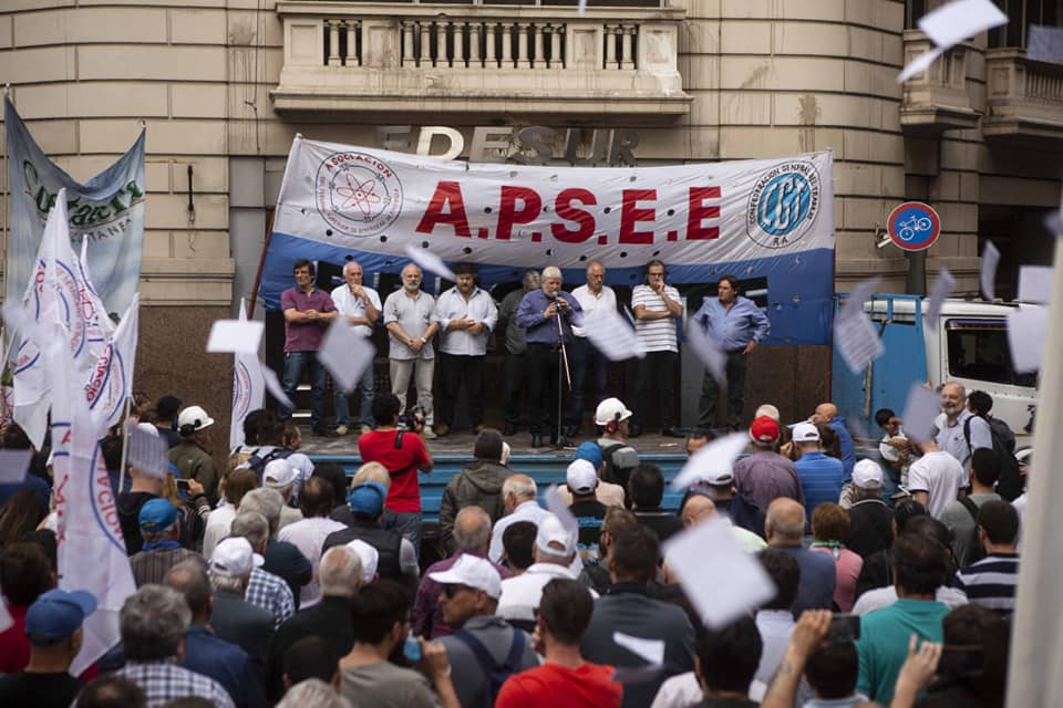 Apsee protesta