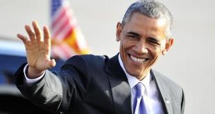 Barack Obama saludo