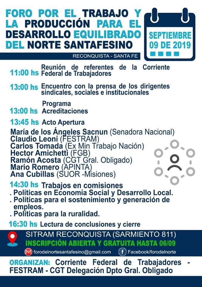 Foro Norte Santa Fe