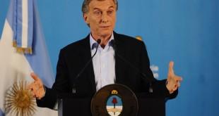 18 07 18 El País Conferencia de Prensa de Mauricio Macri Foto Juan Manuel Foglia