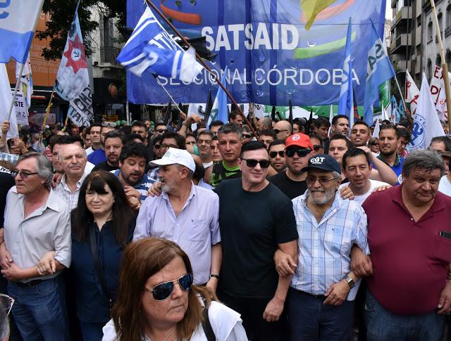 Marcha Programa de La Falda CGT