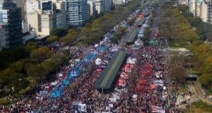 Marcha movimientos sociales