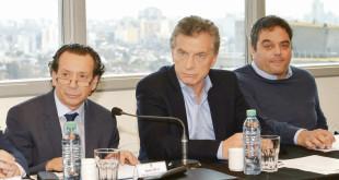 29-08-18 Miguel Braun, Mauricio Macri oficinas de Mercado Libre Dante Sica, Jorge Triaca.