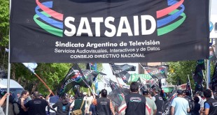Neuquén: Trabajadores nucleados en el Sindicato Argentino de Televisión, Servicios Audiovisuales,mantienen su reclamo por el pago del 40% de zona desfavorable.